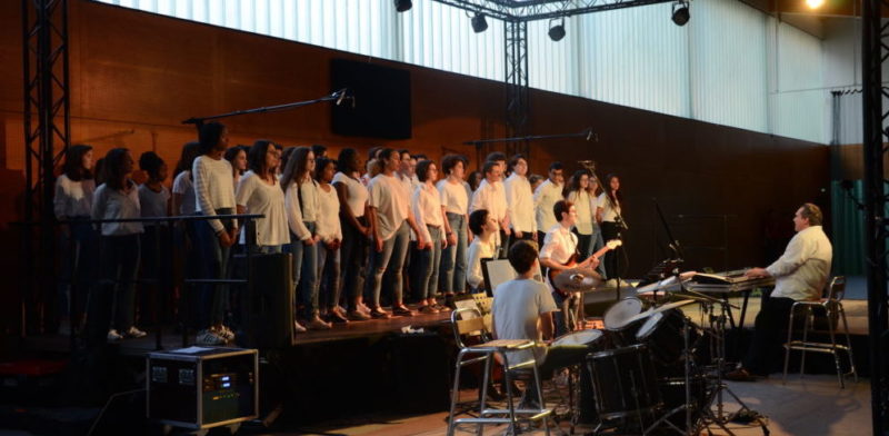 Remise du Bac 2019 – Concert de la Chorale dirigé par Stéphane Dietrich