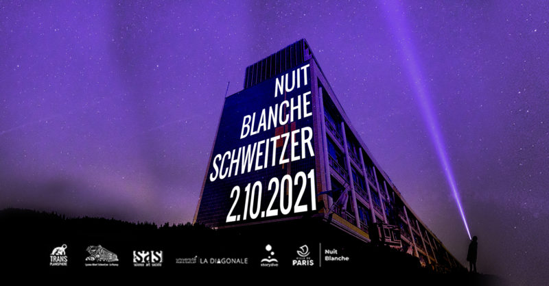 Nuit Blanche 2021 au Lycée Schweitzer – Samedi 2 octobre